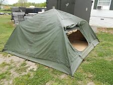 MILITARY 10x10 SOLDIER CREW TENT  ARMY  FREE STANDING  SURPLUS CAMPING  HUNTING