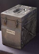 * STENCIL SET ** WW2 WWII GERMAN DOUBLE TELLER MINE 2 T.MI.35 BOX CASE CONTAINER