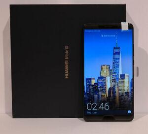Huawei Mate 10 64 GB Speicher Neu 4 GB Ram Smartphone Single Sim Schwarz 4G LTE