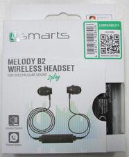 4SMARTS senza fili cuffia Melody Sport B2 NERO