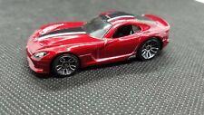 Dodge Viper SRT, 2013. Metallic Maroon w/White-Black Stripes.Black Interior HW12