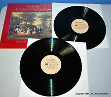 GREAT AGES OF MUSIC The Age of Revolution 2 LP Record Set Time Life #3