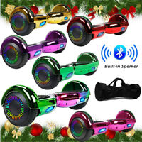 "6.5"" Bluetooth Hoverboard Self Balance Electric Scooter LED UL Bag MerryChrismas"