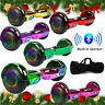 """6.5"""" Bluetooth Hoverboard Self Balance Electric Scooter LED UL Bag MerryChrismas"""