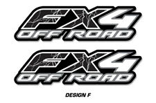 """FX4 Off Road Truck Bed Decal Set For Ford F150 Raptor Stickers 15""""X4"""" LIGHTNING"""