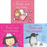 Fiona Watt Thats Not My Series 11: 3 Books bundle Collection Set penguin fairy