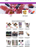 COSMETICS WEBSITE - EASY TO RUN - FULLY STOCKED - HOSTING / DOMAIN