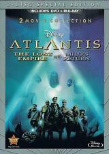 Atlantis: The Lost Empire / Atlantis: Milo's Return: Two-Movie Collection NEW