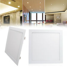 5x 24W 300x300mm Square LED Recessed Panel Ceiling Light Downlight Cool White