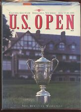 1993 PGA Golf US Open Program + 3 Guides NRMT