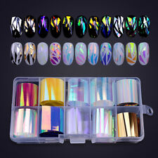 Sky Candy Glass Nail Stickers Set Holographicsssss  Nail Art Decals