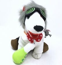 Target Bullseye Dog Plush Stuffed Mad Scientist