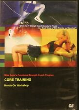 Mike Boyle Core Training Workout Fitness Dvd Functional Strength Coach Program