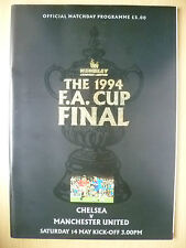 1994 FA CUP FINAL- MANCHESTER UNITED v CHELSEA.