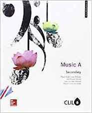 (16).MUSIC (CLAVE A) 1º ESO *MUSICA INGLES*. ENVÍO URGENTE (ESPAÑA)