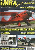 MRA N°800 PLAN : KAISEN / MOTEUR F-75S / STAGGERWING / RADIO DX 7 SPEKTRUM