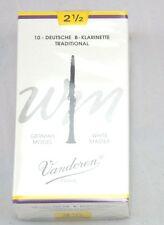 Spielblättchen Vandoren White Master B-clarinete 10 almidón de repuesto 2 1/2