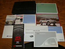 Original 2007 Subaru Forester Owners Operators Manual Kit w/Case 07