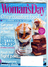 Woman's Day Magazine March 2014 Cozy Comfort Food EX 032216jhe