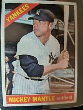 1968 TOPPS BASEBALL CARD MICKEY MANTLE #280 EXCELLENT CONDITION?