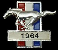 FORD MUSTANG 1964  LAPEL PIN BADGE