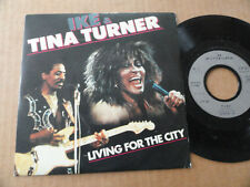 "DISQUE 45T DE IKE & TINA TURNER  "" LIVING FOR THE CITY """