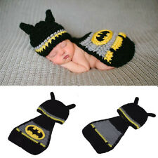 ac36cecca 0-6Months Batman Newborn Baby Girls Boys Crochet Knit Costume Photo  Photography