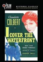 I COVER THE WATERFRONT USED - VERY GOOD DVD