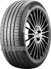 2x SUMMER TYRES Continental ContiSportContact 5 235/50 R17 96W BSW with FR