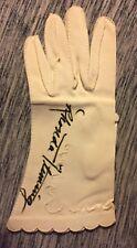 RHONDA FLEMING HAND SIGNED AUTOGRAPHED CLOTH GLOVE ONE OF A KIND RARE W/COA