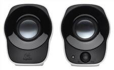 Logitech Z120 stereo speakers These compact, USB-powered speakers with integrate