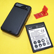 New Extended Slim Replacement 4120mAh Battery + Wall Charger for LG V20 BL-44E1F