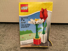 Lego 40187 Valentine Flowers Red Rose White Daisy Display (New Other)