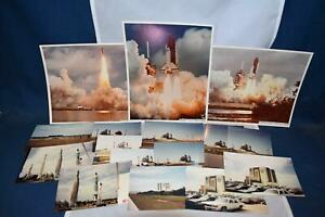 Apollo Rockwell Columbia STS3 Color Photographs Lift Off Original Time Period