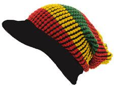 Cappello VISIERA GIAMAICA-RASTA Design (R4R0130) - GRATIS UK P & P!