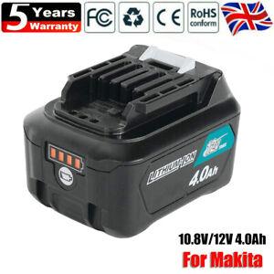 10.8V 12V 4.0Ah Makita Battery BL1041B BL1040 BL1021 BL1020B BL1015 CXT Li-Ion
