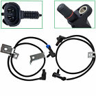 Front Left & Right ABS Wheel Speed Sensor For Chevrolet Silverado 1500 2500 HD