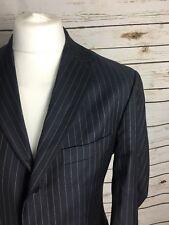 Reiss Blazer Navy Striped Size 40 Wool