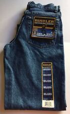 Rustler by Wrangler Relaxed Fit Boys Blue Jeans Size 14 Regular Brand NEW w/Tags
