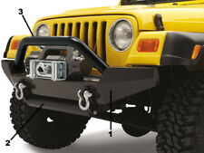 Barre acier noir rock crawling Jeep Wrangler YJ, TJ, JK