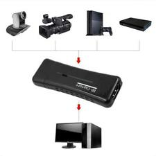 Portable HD 1080P USB 2.0 Port HDMI Game Video Capture Card For Computer PC uk