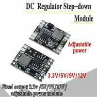 DC-DC Buck Step-down Power Supply Module 5V-12V24Vto5V3.3V9V12V Fixed Output