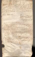 1583. PADOVA – PERGAMENA  LUGLIO