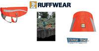 Ruffwear Gear Track Jacket Blaze Orange High Visibility Reflective Dog Coat