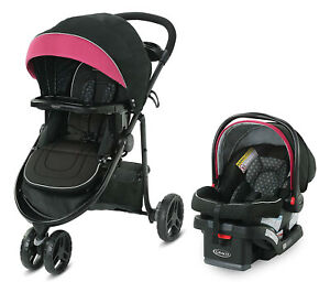 Graco Baby Modes 3 Lite DLX Travel System Stroller with Infant Car Seat Arbis
