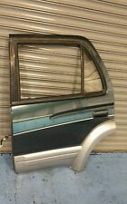 TOYOTA HILUX SURF GE 3 REAR PASSENGER SIDE DOOR IN GREEN AND SILVER 1997,