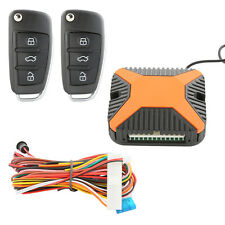 New listing Dc12V Car Keyless Entry Kit Remote Trunk Release with free 2 car blank key blade