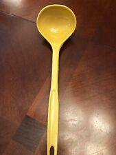 Vintage Foley Kitchen Utensil LADLE Mustard Yellow