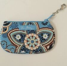 Vera Bradley Coin Purse NWOT Bali Blue Clip Zip ID