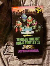 NECA TMNT Super Shredder EU VARIANT 30th Secret Of The Ooze FACTORY SEALED NEW!!